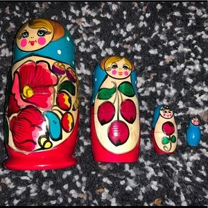RUSSIAN Doll Set 🎪
